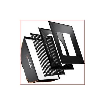 Walimex softbox: pro Softbox PLUS OL 60x90cm Multiblitz P - Zwart, Wit