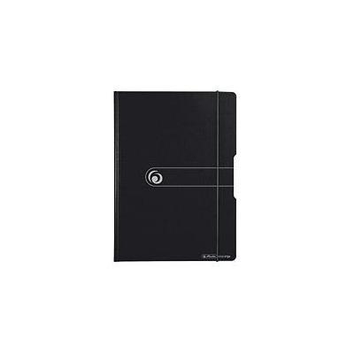 Herlitz klembord: clipboard, PF, A4 - Zwart