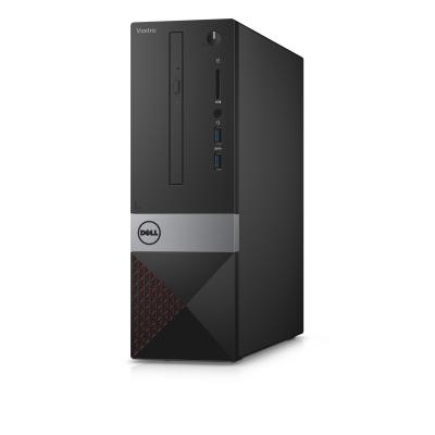 Dell pc: Vostro 3268 - Core i3 - 4GB RAM - 128GB  - Zwart, Zilver