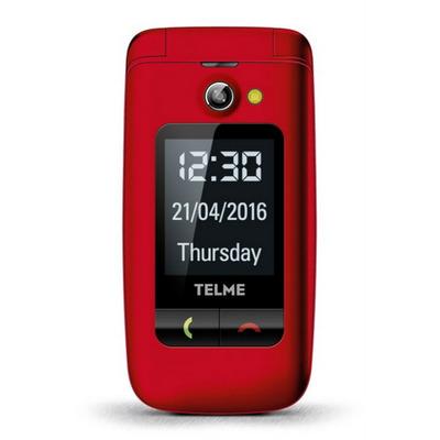 TELME X200 Mobiele telefoon - Rood