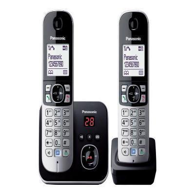 Panasonic KX-TG6822 Dect telefoon - Zwart, Zilver