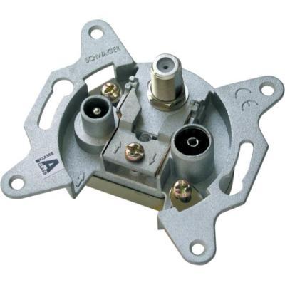 Schwaiger RDS808011 wandcontactdoos