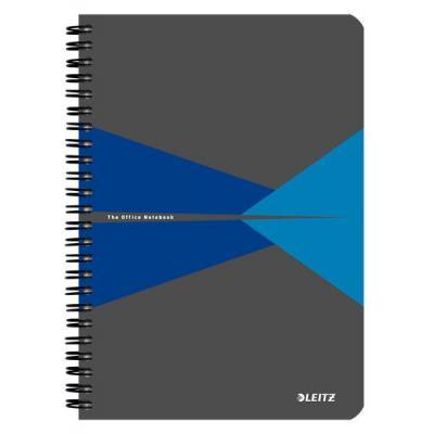 Leitz Office A5 ruled, 90p, 164 x 12 x 210 mm, 280 g Schrijfblok - Blauw, Grijs