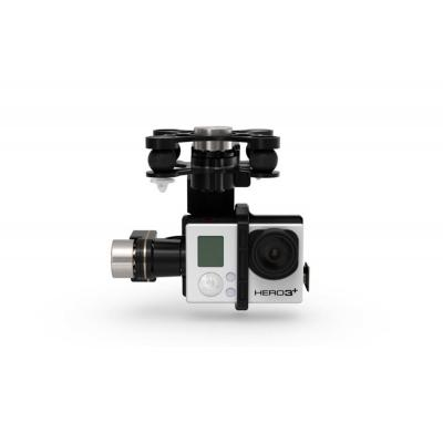 Dji camera stabilizer: Zenmuse H3-3D - Aluminium, Zwart