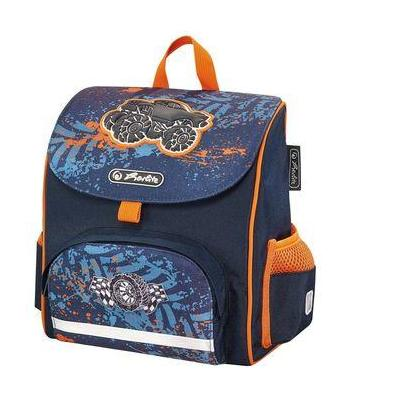 3b20747db54 Herlitz : Mini Softbag Monster Truck - Navy, Oranje