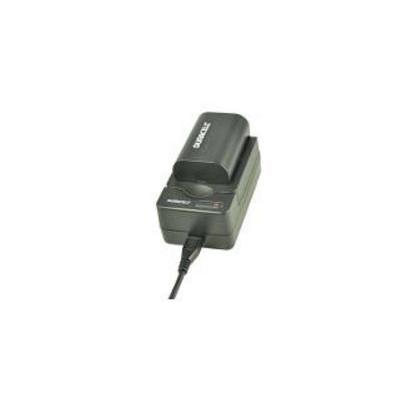Duracell oplader: USB, 5V, Replacement f/ Canon LP-E6 - Zwart