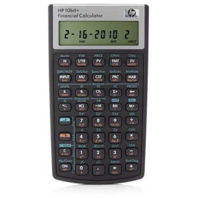 Hp calculator: 10bII+ - Zwart