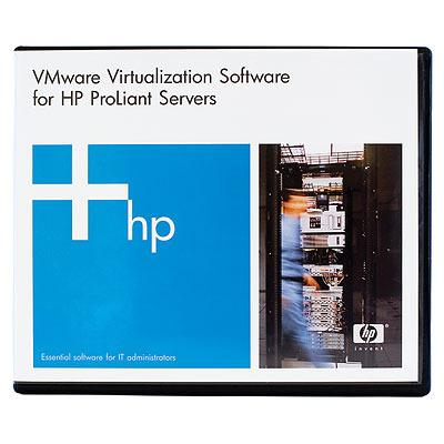 Hewlett packard enterprise virtualization software: VMware vSphere with Operations Mgmt Standard Acceleration Kit 6 .....