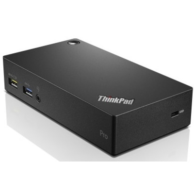 Lenovo ThinkPad USB 3.0 Pro Dock EU Docking station - Zwart