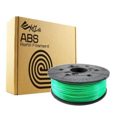 Xyzprinting 3D printing material: ABS Refill, 1.75mm, 600g, Luminous green - Lichtend groen