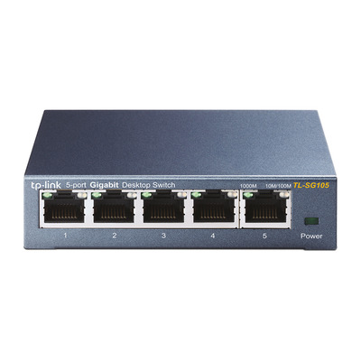 TP-LINK TL-SG105 Switch - Zwart