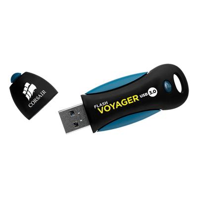 Corsair Voyager 256GB USB flash drive - Zwart, Blauw