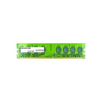 2-power RAM-geheugen: 2GB DDR2 667MHz DIMM - Groen