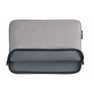 "Gecko Zipper sleeve Laptop 13"", Universal, Grey Laptoptas"