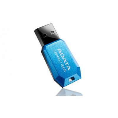Adata USB flash drive: 8GB UV100 - Blauw