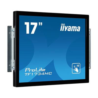 Iiyama ProLite 17'', 1280 x 1024, 350 cd/m², 5:4, 5ms, IP65 Touchscreen monitor - Zwart