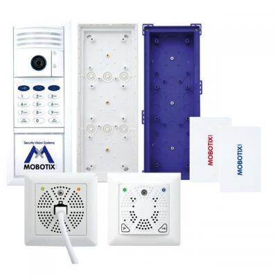 Mobotix deurintercom installatie: MX-T25-SET2 - Wit