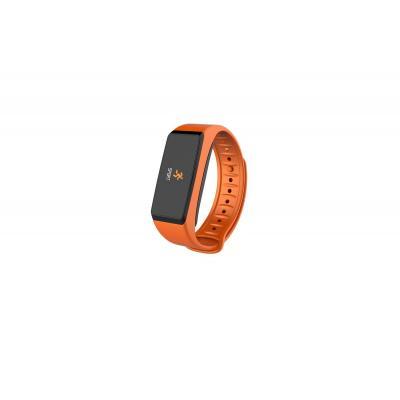 Mykronoz wearable: ZeFit2 Pulse - Zwart, Oranje