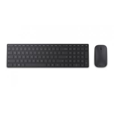 Microsoft Designer Bluetooth Desktop - Scandinavisch - QWERTY toetsenbord - Zwart