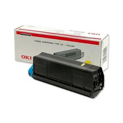 OKI cartridge: Yellow Toner Cartridge C5100/C5300