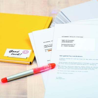 Herma etiket: Etiketten wit correctie/afdek 105x148 A4