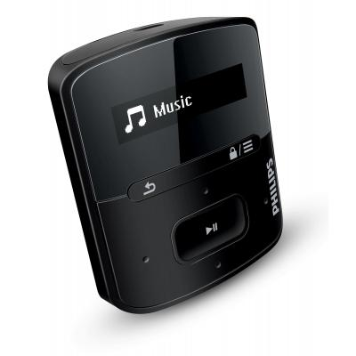 Philips MP3 speler: GoGear MP3-speler SA4RGA04KN/12 - Zwart