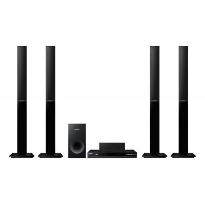 Samsung home cinema system: HT-H4550R - 500W, 5.1Ch, PAL, Anynet+ (HDMI-CEC), DLNA, FM - Zwart