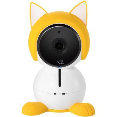 """Netgear beveiligingscamera bevestiging & behuizing: Baby Character, 8.382 cm (3.3 """") x 3.1"""" x 1.8"""" - Wit, Geel"""