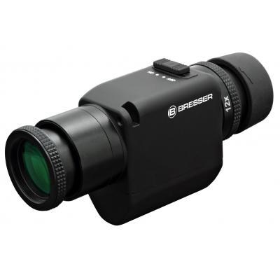 Bresser optics verrekijker: Zoom-Monocular 6-12x30 - Zwart