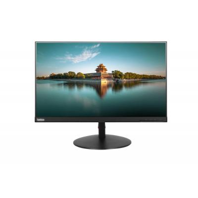 Lenovo ThinkVision T24i Monitor - Zwart