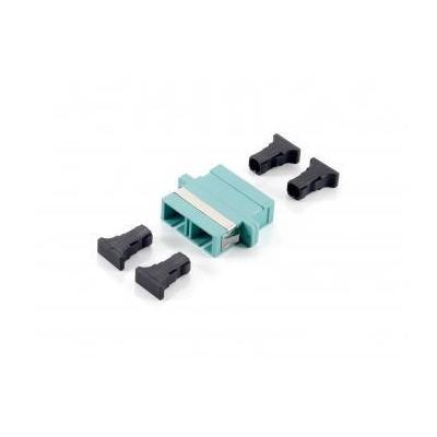 Equip fiber optic adapter: SC Coupler - Turkoois