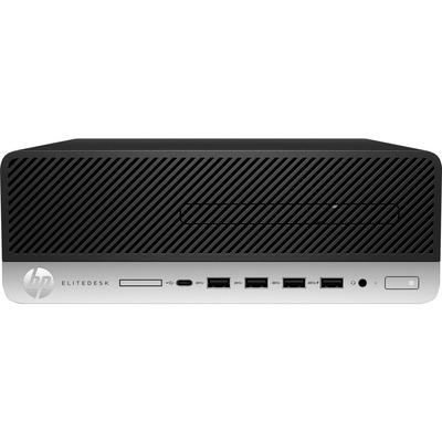 HP EliteDesk 705 G5 SFF Ryzen 7 Pro 8GB RAM 256GB SSD Pc - Zwart