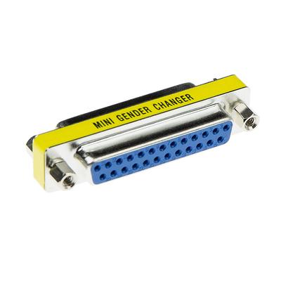 ACT D-sub Adapter 25 polig female naar 25 polig female Kabel adapter