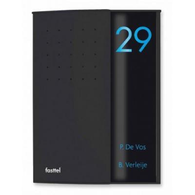 Fasttel deurbel: Wizard Elegance FTZ2902V - Zwart