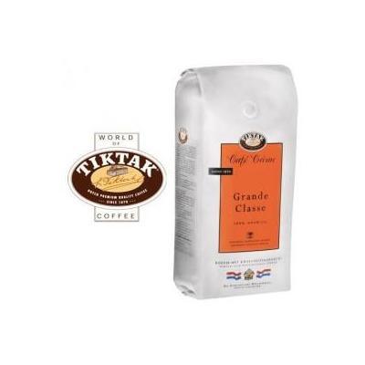 Tiktak koffie: Cafe Creme Grande Classe koffie bonen 6x1000 gram
