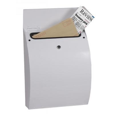 Phoenix 405 x 320 x 130 mm, Key Lock, 3 kg, White