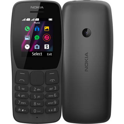 Nokia 110 Mobiele telefoon - Zwart