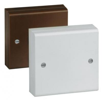 Abus alarmsysteem behuizing: Screw terminal distributor flush mount, 12-pins, white - Wit