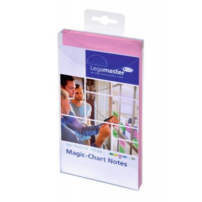 Legamaster Magic-Chart notes 10 x 20 cm pink 100 pcs Zelfklevend notitiepapier - Roze