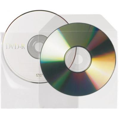 3L Non-adhesive CD/DVD Pockets - Transparant