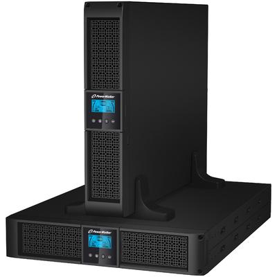 PowerWalker VI 3000RT LCD UPS - Zwart