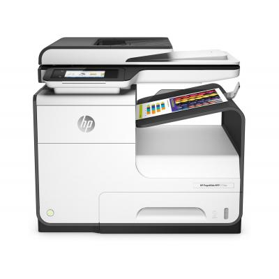 Hp multifunctional: HPPageWide 377 MFP - Zwart, Wit