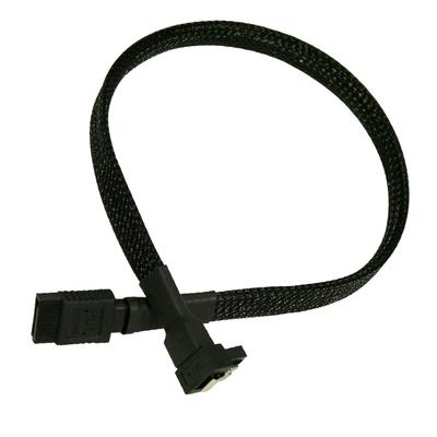 Nanoxia SATA 6GB/s, 0.3 m ATA kabel - Zwart