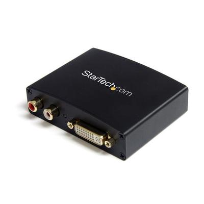 StarTech.com DVI naar HDMI met Audio Video converter - Zwart
