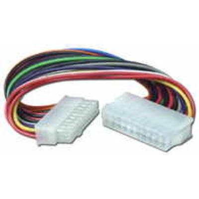 Microconnect 20pin - 20pin, M-F, 0.2 m - Multi kleuren