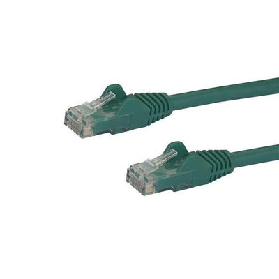 StarTech.com Cat6 patchkabel met snagless RJ45 connectors 1 m, groen Netwerkkabel