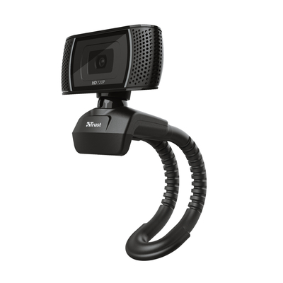 Trust webcam: Trino HD Video Webcam - Zwart