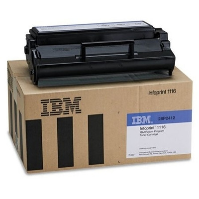 IBM Return Program Cartridge, black, 3000 pages Toner - Zwart