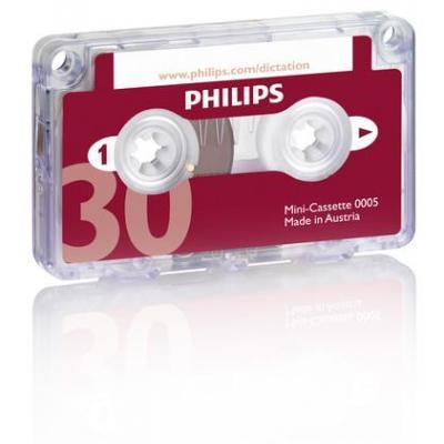 Philips AV casette: Mini cassette, 30 minutes, 10 pcs