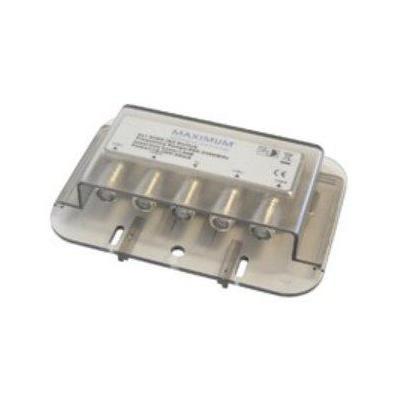 Maximum kabel splitter of combiner: DiSEqC 4/1 switch High ISO - Grijs